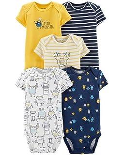 e71e1c88d9bd5 Amazon.com: Carter's Baby Boys' 5 Pack Whale Tank Top Originals ...