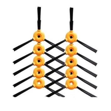 10 unids Cepillo lateral para CONGA EXCELLENCE Robot Aspirador reemplazo de piezas: Amazon.es: Hogar