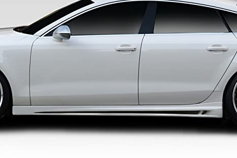 2007 – 2013 Audi A5 4dr DuraFlex TKR lado Faldas – 2 piezas