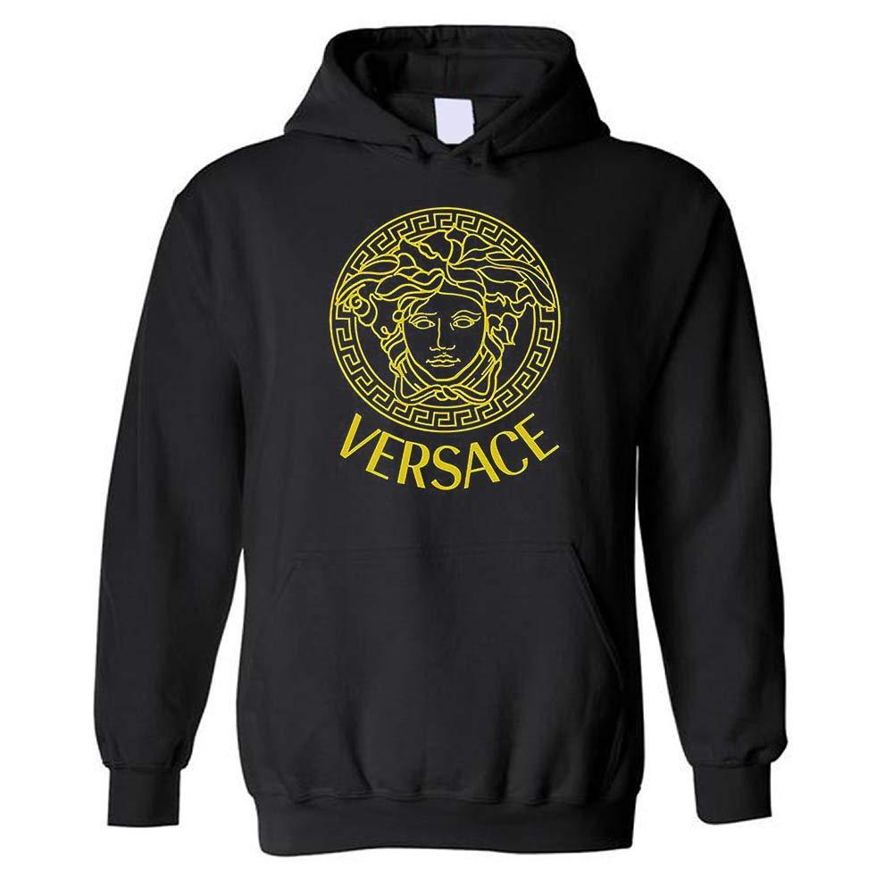 Embellished Medusa V-e-r-s-a-c-e Hoodies Sweatshirts for Fan