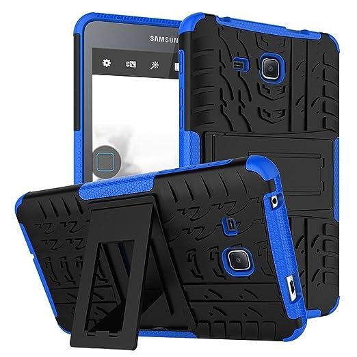 6 opinioni per Tab A 7.0 Inch Tablet Custodia DWaybox 2in1 Combo Hybrid Armor Rugged Heavy Duty