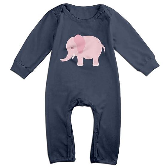 Amazon Com A Pink Elephant Romper Baby Onesie Bodysuit Clothing
