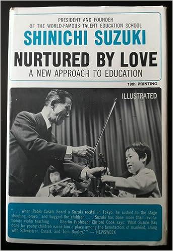 Suzuki nurtured pdf love by