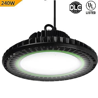 dephen 240w led ufo high bay light lumen dimmable high bay led