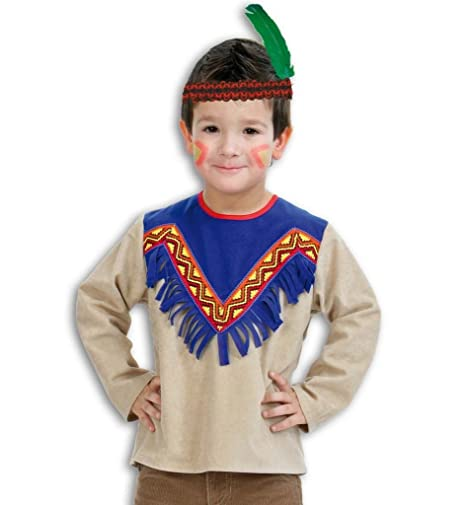 OT disfraz estilo indio Talla:98: Amazon.es: Bebé
