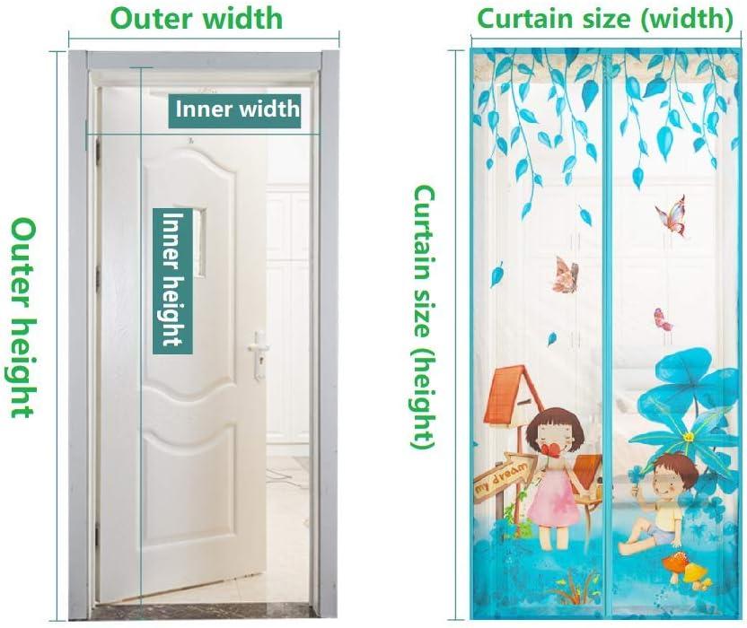 MYMGG Mosquitera Puerta Magnetica Corredera Cortina Mosquitera Magnética para Puertas Cortina de Sala de Estar la Puerta del Balcón Puerta Corredera de Patio: Amazon.es: Deportes y aire libre