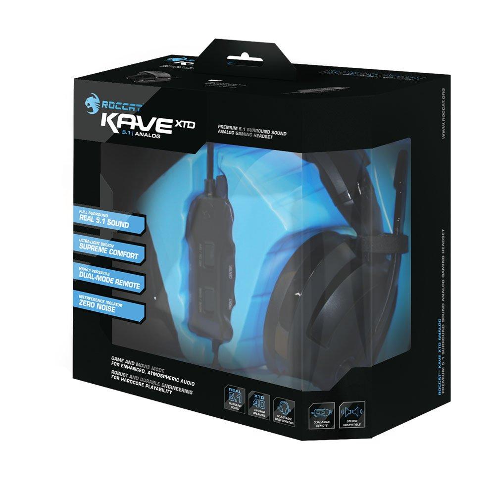 Amazon.com: ROCCAT KAVE XTD ANALOG Premium 5.1 Surround Sound Analog ...