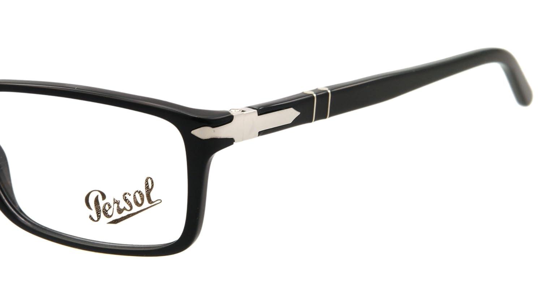 1bf3b6899d539 Amazon.com  Persol Eyeglasses PO 2965 V BLACK 95 PO2965 V  Persol  Clothing