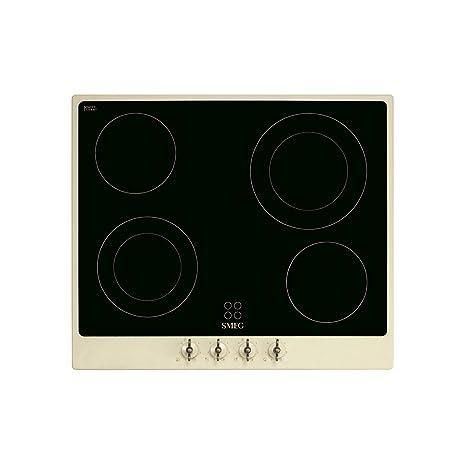 Smeg Coloniale - Placa de cocción vitrocerámica: Amazon.es ...