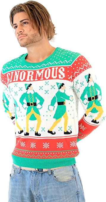 Ripple Junction Elf Ginormous Adult Ugly Sweater