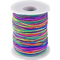 Phoneix 1 mm Elastic Cord Thread Beading String Cords, 100 Meters