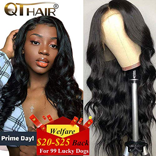 (QTHAIR 10A 360 Lace Frontal Wigs 20