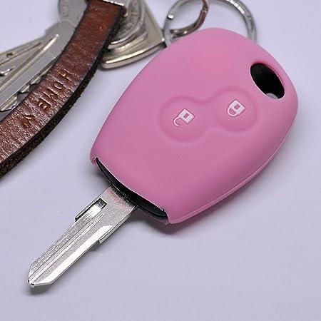 Silikon Soft Case Schutz Hülle Auto Schlüssel 2 Tasten Elektronik