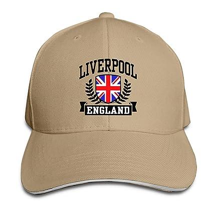 Gen-Z Liverpool - Gorra de béisbol de Inglaterra para casquete ...