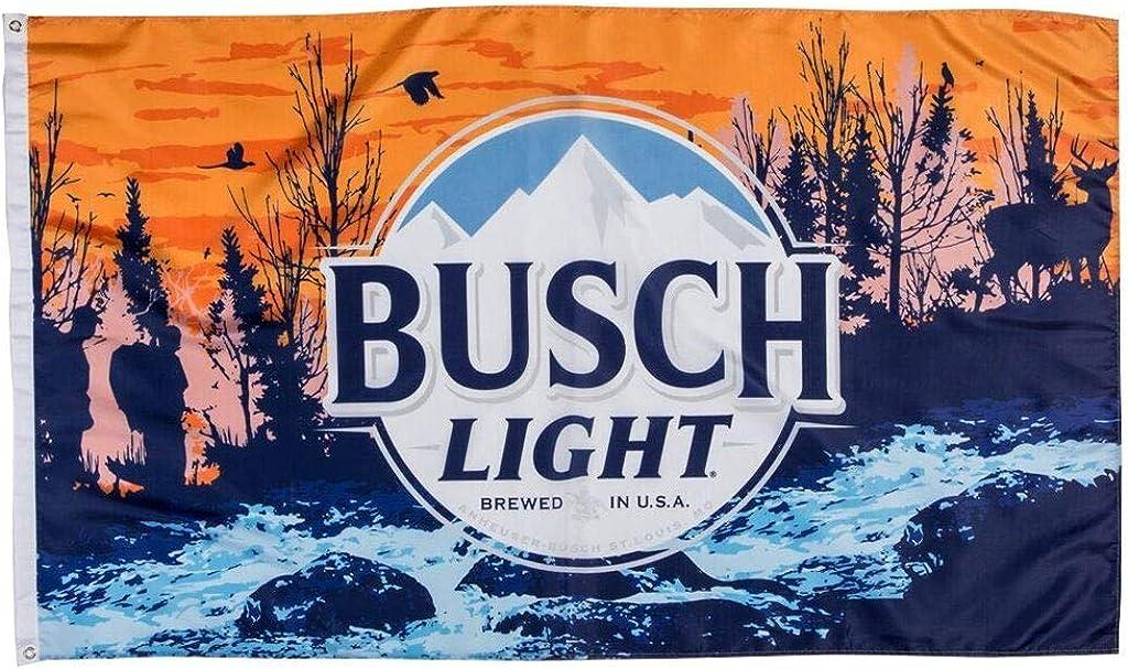Buschhhhhhh Light Beer Flag