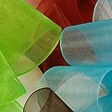 "Plum Shimmer Sheer Organza Ribbon, 7/8"" X 25Yd"