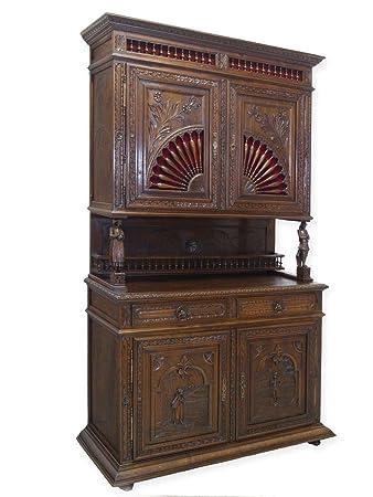 Antike Fundgrube Schrank Buffet Wohnzimmerschrank bretonisch um 1880 ...