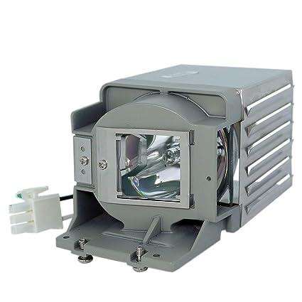TW519 MS517 Chaowei 5J.J6L05.001 5JJ6L05001 L/ámpara de Repuesto para Proyector con Carcasa Compatible con BENQ MS507H MX518 MW519