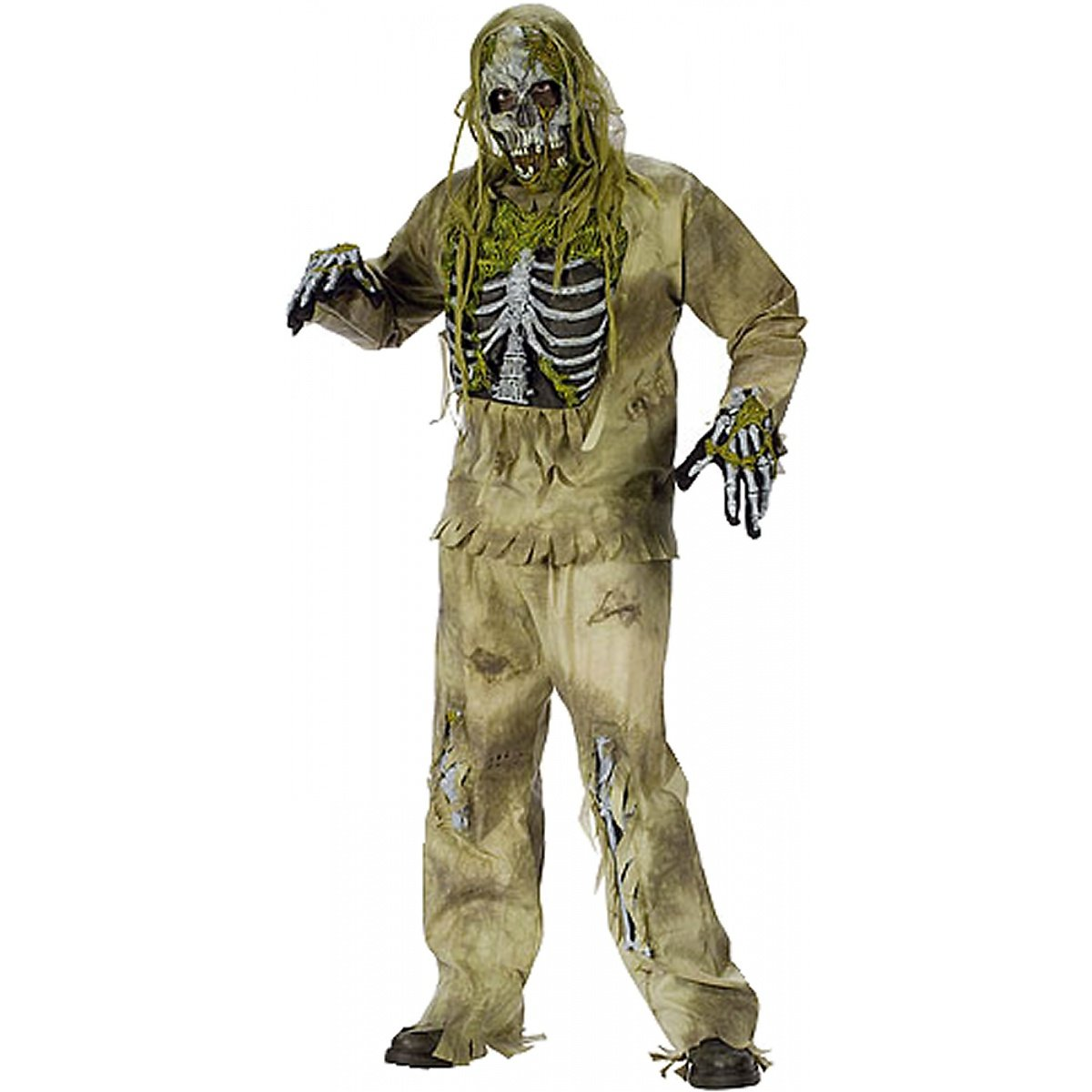 Skeleton Zombie Child Costume Fun World
