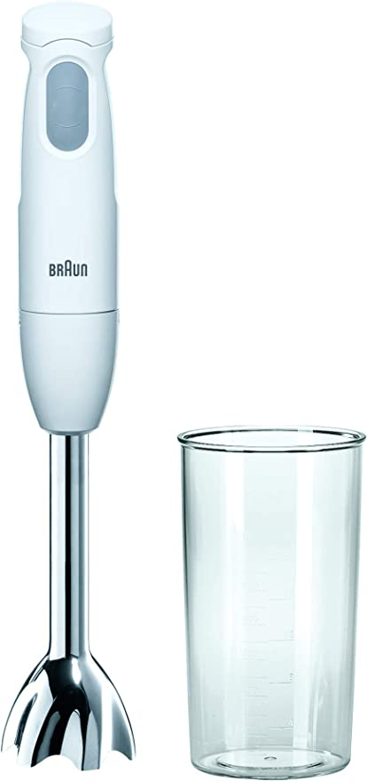 Braun MQ100CURRY Batidora de inmersión, 450 W, 0.6 L, plástico ...