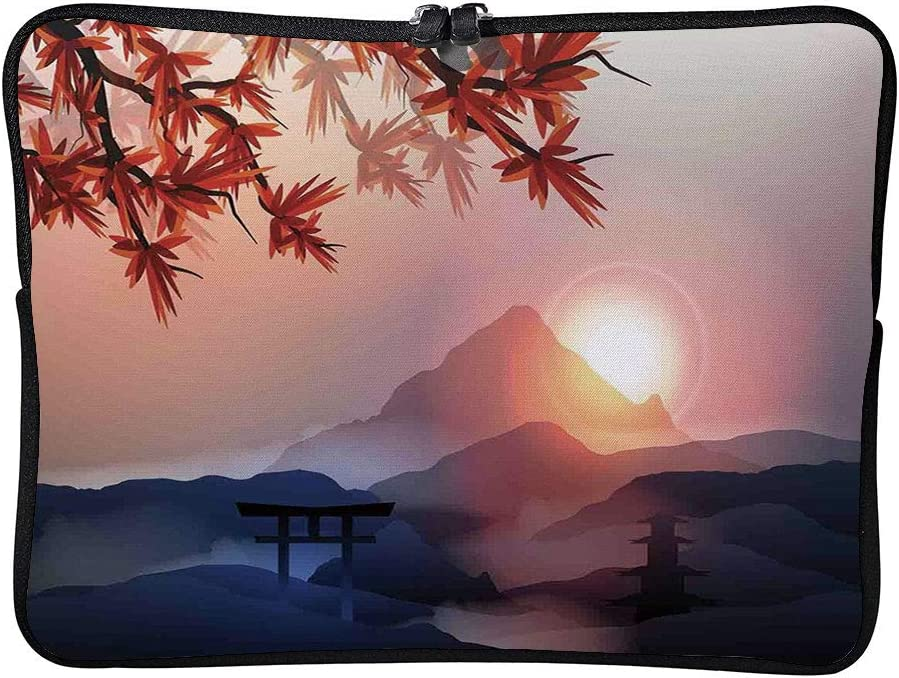 C COABALLA Asian Decor,Majestic Himalayas Peaks Tops Cushion Protective Waterproof Laptop Case Bag Sleeve for Laptop AM004161 13 inch//13.3 inch