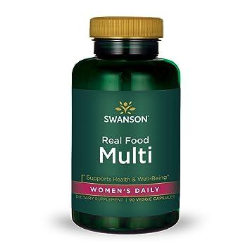 Real Food Multi Womens Multivitamin Multimineral Womens Health Urinary Tract Stress Response Bone Hair Skin Nails