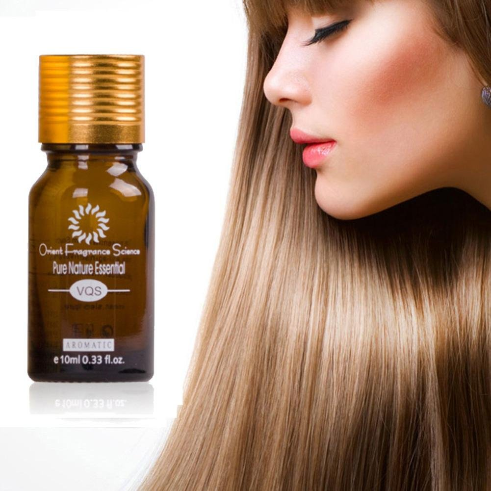 Belloc Hair Growth Oils - 100% Natural Extract Growth Hair Oil with Grape Seed Oil for Thicker Hair - Best Treatment for Hair Loss, Thinning Hair, Inelastic, Tangled, Dull, Brittle Hair, 10ml