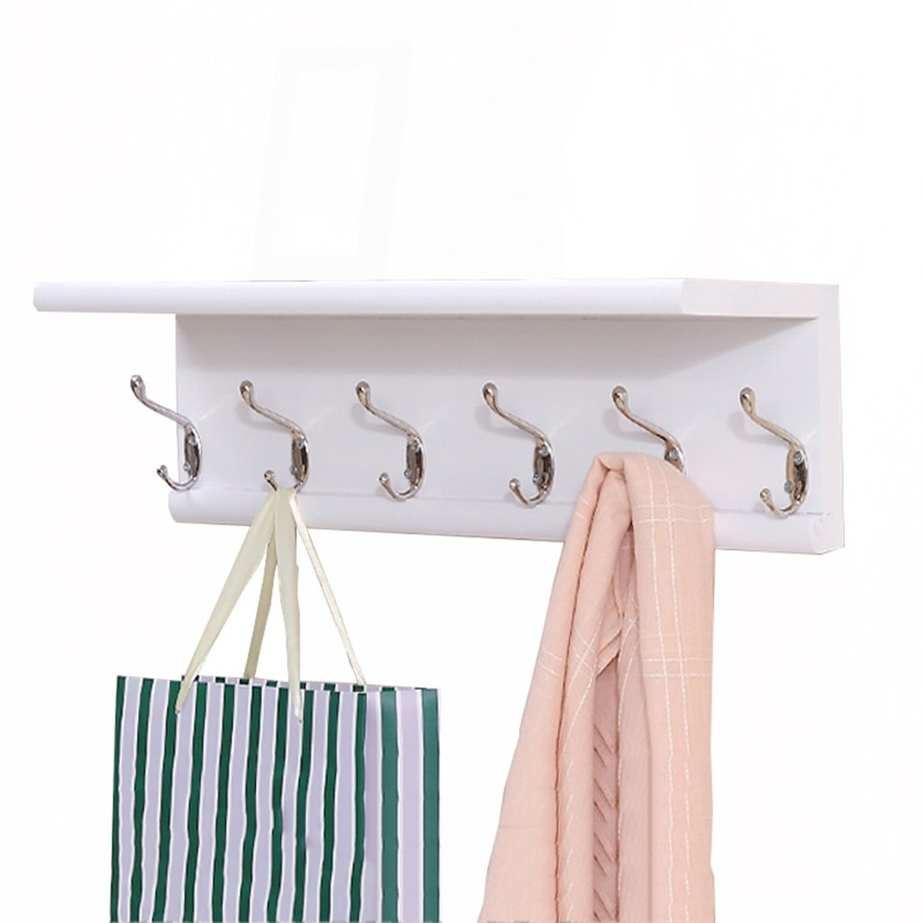 Amazon.com: LAXF-Wall Coat Racks with Hooks/Solid Wood ...