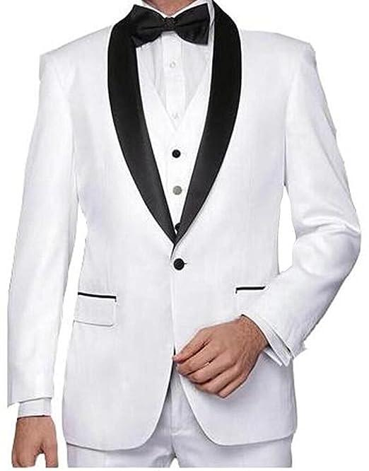 Lilis - Traje - para hombre Blanco blanco 52US/UK & 62EU ...