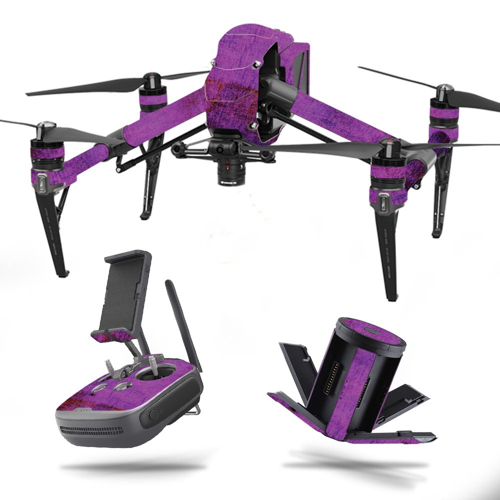 MightySkins スキンデカールラップ DJIステッカー保護カバー 100種類のカラーオプションに対応, DJI Mavic 2 Pro or Zoom, DJMAVPR18-Black Diamond Plate B07751F7C3 DJI Inspire 2|Purple Sky Purple Sky DJI Inspire 2