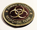 Multicam Tactical Morale Patch Velco Backed Zombie Hunting Apocalypse Response Team