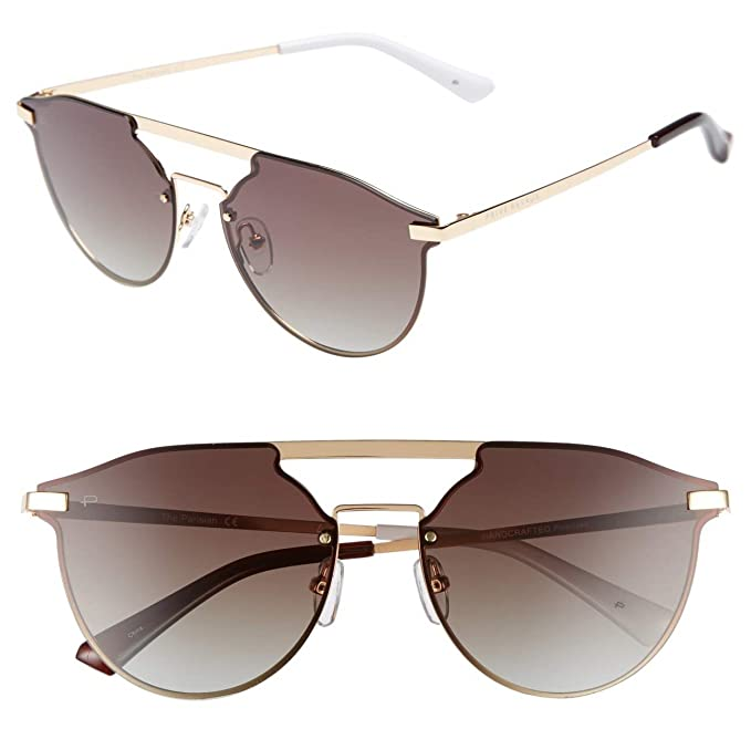 8331388973 PRIVÉ REVAUX ICON The Parisian Designer Polarized Round Sunglasses (Brown)