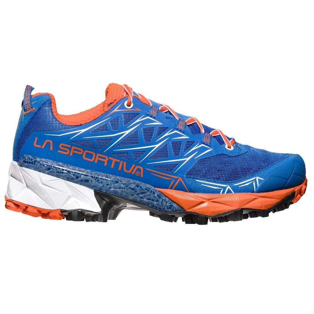 MultiCouleure - Bleu Marine Orange (Marine bleu   Lily Orange 000) 38.5 EU La Sportiva Akyra femme, Chaussures de Trail Femme