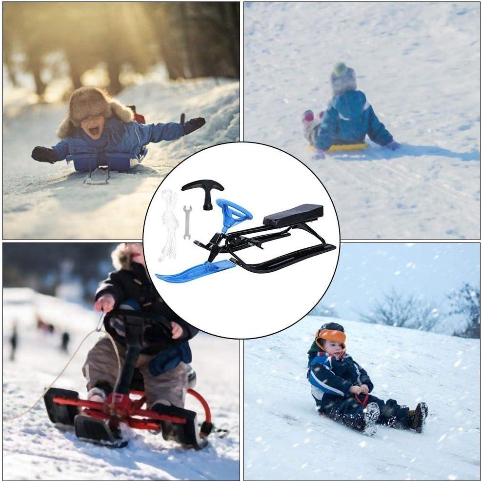 Phoenix Fitness Boyz Toys Warp Speed Slider Snow Trineo Snow Trineo Winter Fun Sports Steel Snow Trineo