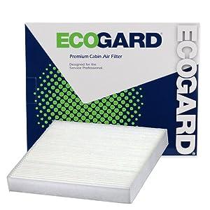 ECOGARD XC36080 Premium Cabin Air Filter Fits Honda Fit, Civic, HR-V, Insight, CR-Z, CR-V