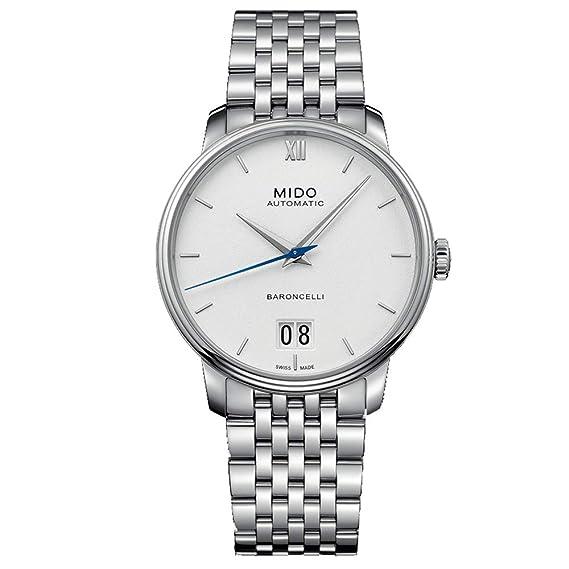 Mido Baroncelli Reloj de Hombre automático 40mm M027.426.11.018.00: Amazon.es: Relojes