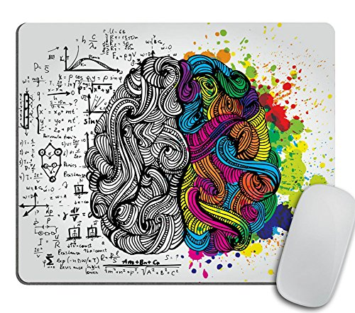 Accessories Mousepad Office Decor Office Desk Accessories Office Office Supplies Office Accessories Color (Left and Right Brain) ()