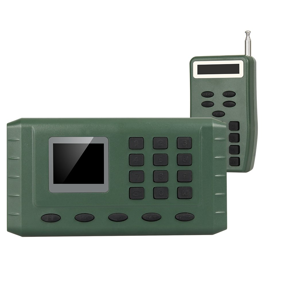 Outdoor Hunting Electronic Quail Sounds CP-380 Bird Caller Mp3 Player With Remote Control And Rechargeble Battery by Generic (Image #3)