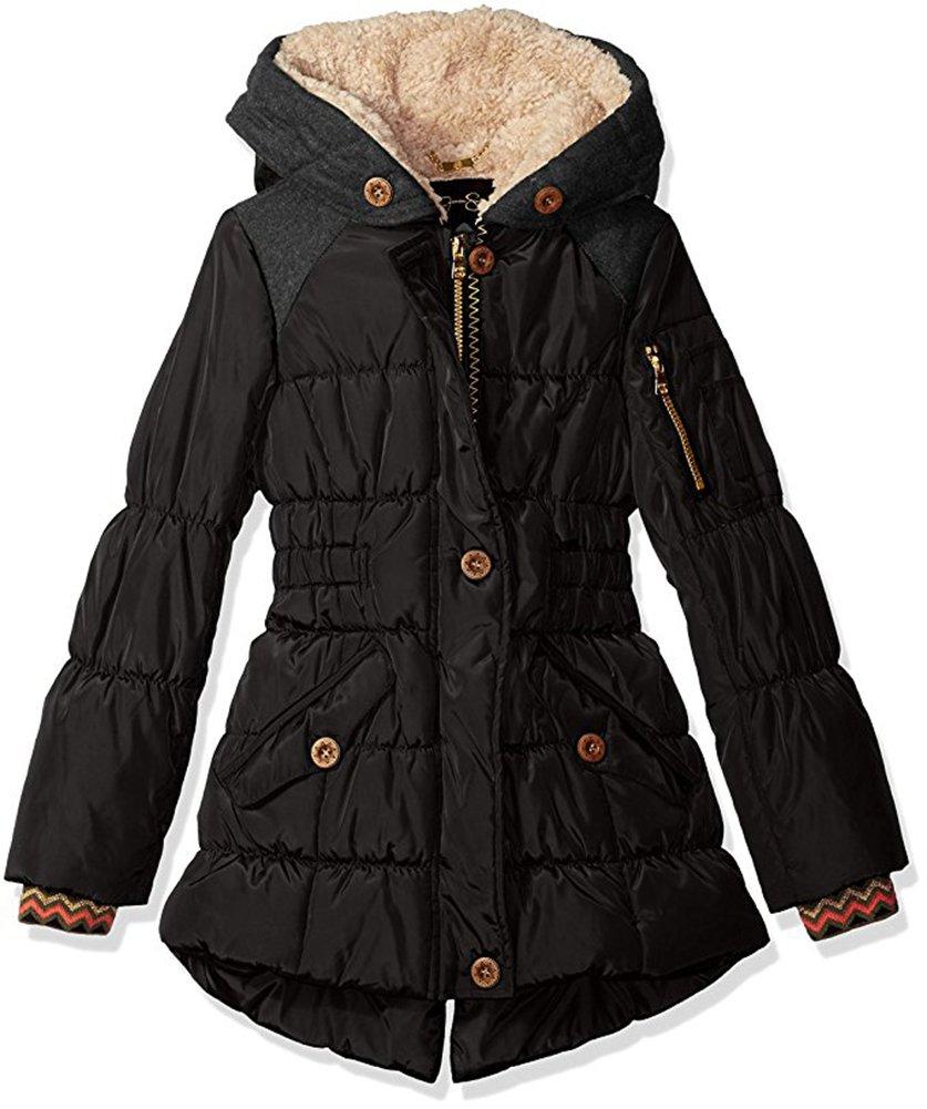 Jessica Simpson Little Girls' Heavyweight Expedition Coat (6X)