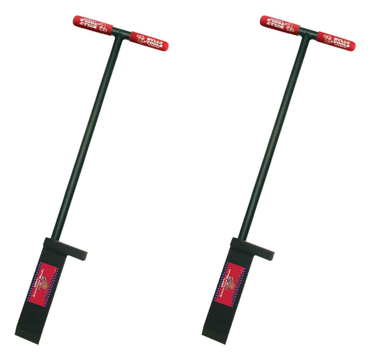 Bully Tools 92381 3/8-Inch Dibble Bar with Steel T-Style Handle (Тwо Расk)