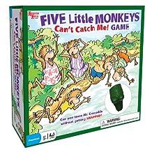 University Games Five Little Monkeys Can't Catch Me Five Little Monkeys Game