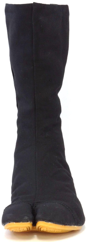 Ninja Shoes, Jikatabi, Rikkio Tabi Boots(US 5~12) Black / White!! +Travel bag (US 12 (30cm), Black) by Tabi Shoes (Image #4)