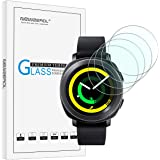 Newzerol [4 Pack] for Samsung Gear S2 / Gear Sport Smart Watch (31mm) Upgraded Version Screen Protector, 2.5D Arc Edges 9 Hardness High-Definition Tempered Glass Screen Protector Anti-scratch Bubble-free Protective Film-Clear