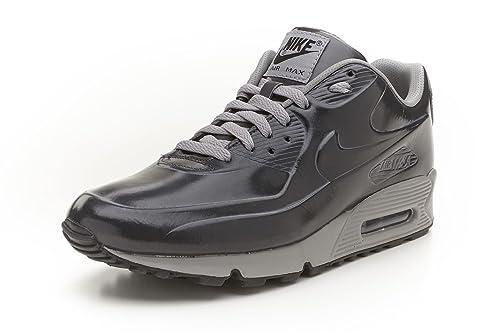 huge discount 2e3c0 fc520 Nike Air Max 90 VT Medium Grey Black Overspray Mens Running Shoes  472489-005