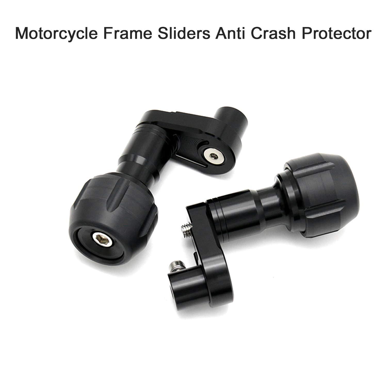 2018-2019 KKmoon Deslizadores de Marco Frame Slider Protector de Choque Accesorios de protecci/ón del Motor compatible con KAWASAKI NINJA400 Z400