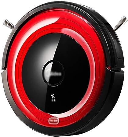 HYL Aspiradora Inteligente Aspiradora Robot Aspirador de la robusteza Inicio automático de Barrido Oficina Robot Robot Aspirador de Hoover (Color: Rojo, Tamaño: 30 * 30 * 7.8cm): Amazon.es: Hogar