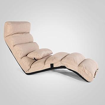Chaise De Plancher Rose Avec Le Soutien Dos Pour Des Filles Sofa Paresseux Pliable