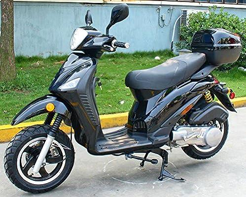CRT 150 cc Gas ciclomotor scooter motocicleta adultos tamaño 12