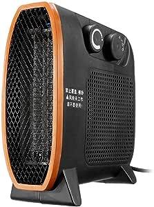 XHH Calefactor Eléctrico Portátil 20W/750W/1500W Calefactor de Aire Caliente Termoventiladores de Ventilador Calentador de Cerámica de PTC para Hogar y Oficina Protección del Sobrecalentamiento