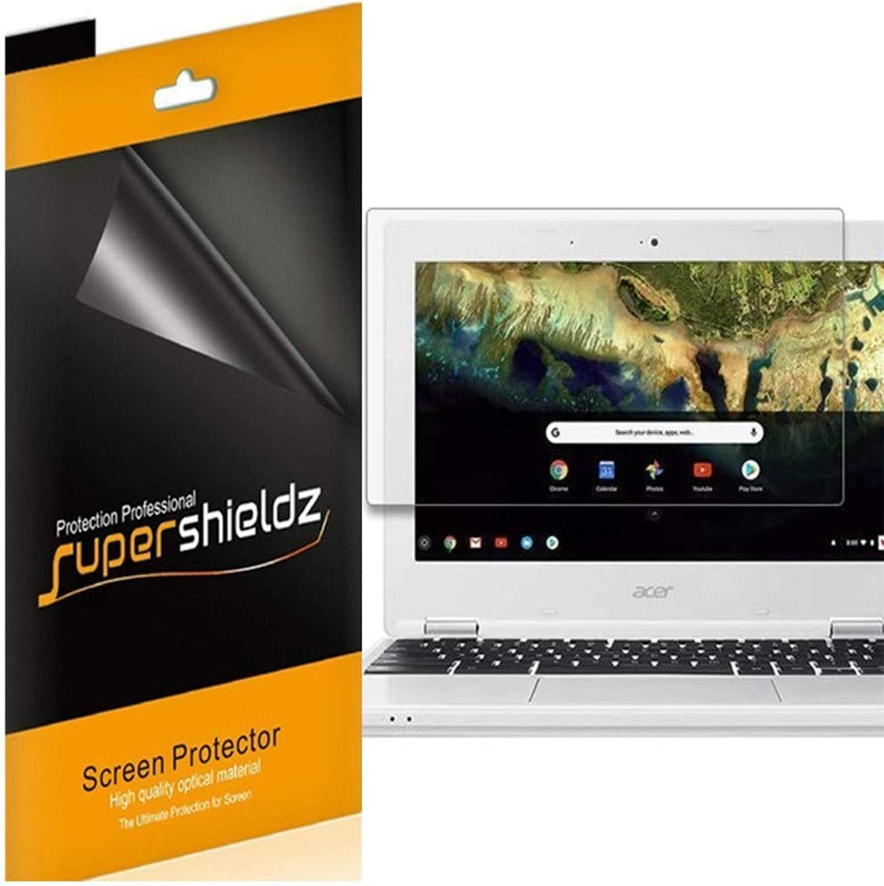 Supershieldz (3 Pack) for Acer Chromebook 11 (11.6 inch) Screen Protector, Anti Glare and Anti Fingerprint (Matte) Shield